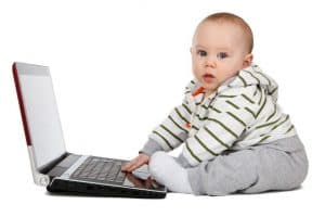 Baby Playing With Laptop 1280x853 1024x682 1