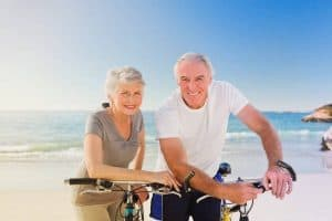 an old couple seaview bicycle 1024x682 1