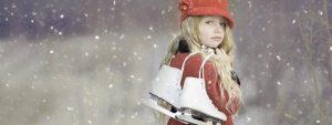 Young Girl Snow Ice Skates 1280x480 1024x384 1