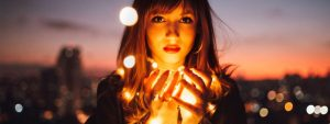 Girl With Lights 1280x480 1024x384 1