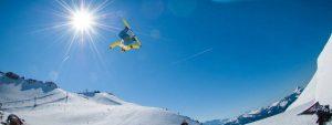 Snowboarding Flip in Air 1280x480 1024x384 1