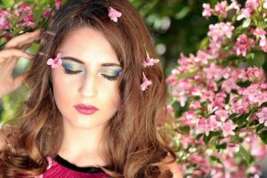 spring woman flowers eyes closed 1024x682 1
