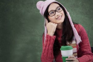 Girl Glasses Hat Thinking 1280x853 1024x682 1